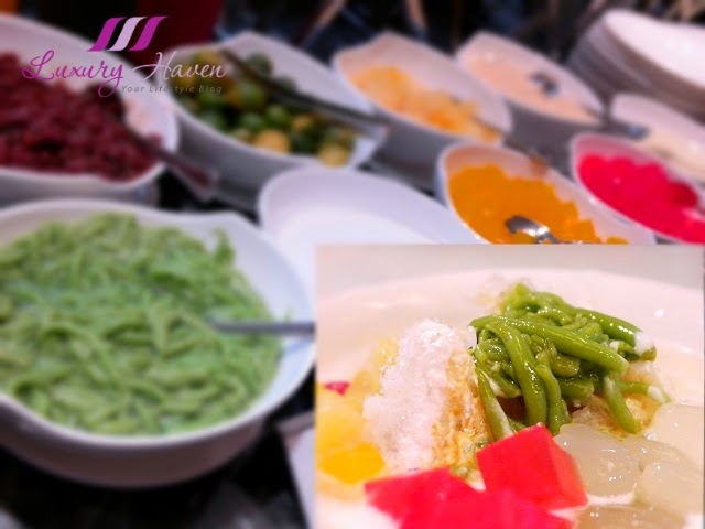 concorde hotel spices cafe buffet chendol review