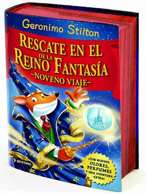 LIBRO - Rescate en el Reino de la Fantasía . Noveno viaje Geronimo Stilton (Destino - 20 Octubre 2015) LITERATURA INFANTIL Y JUVENIL Edición papel & ebook kindle | Comprar en Amazon