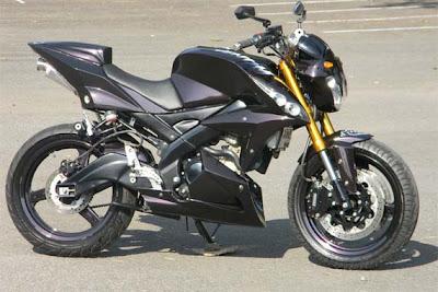 Modifikasi Yamaha Vixion Modif