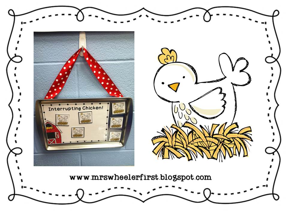 mrs wheeler 39 s first grade tidbits interrupting chicken. Black Bedroom Furniture Sets. Home Design Ideas