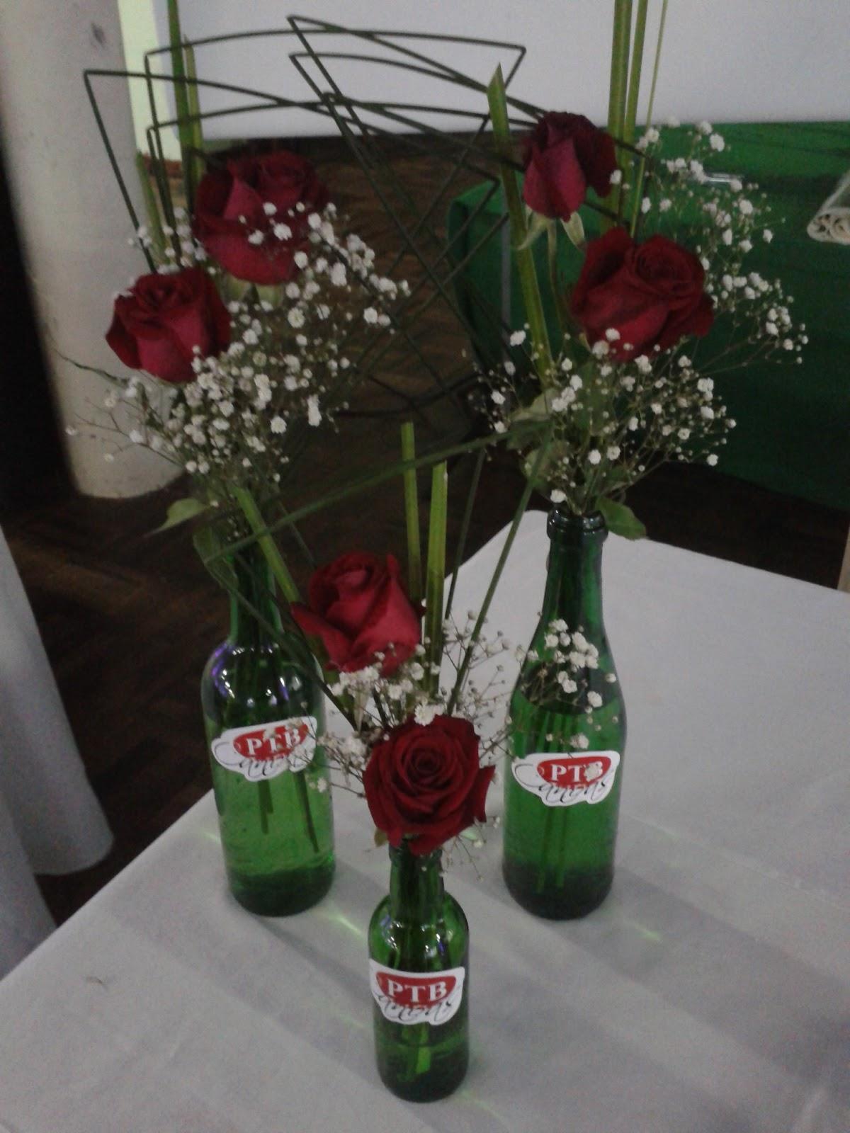 Coisas daÉti Decoraç u00e3o com garrafas de vidro -> Decoracao Com Tampa De Vidro