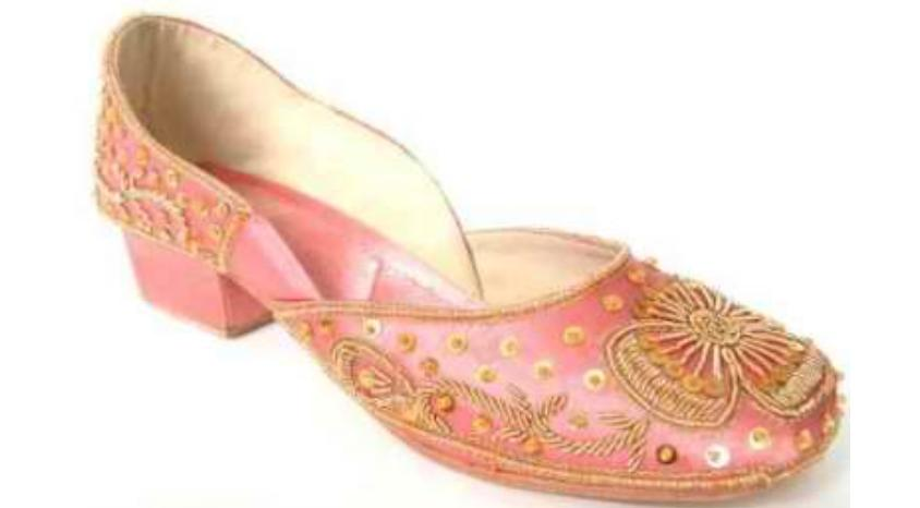 Beautiful Wedding Shoe Pink