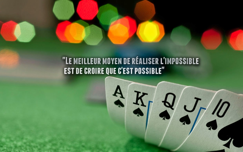 citation sur le possible et l'impossible