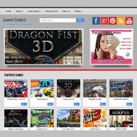 Template Modifikasi Dari Template Maskolis Untuk Game Online
