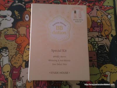 Etude House Precious Mineral BBdation