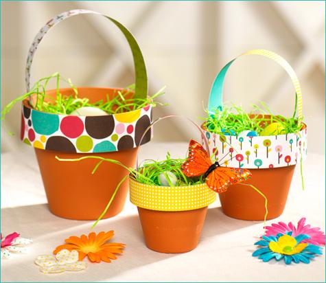 All kinds of diy easter baskets b b for Decoracion de pascua