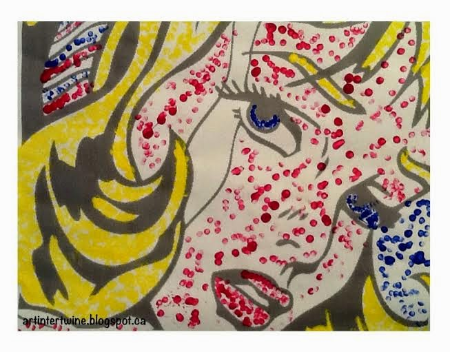 Roy Lichtenstein Primary Colors