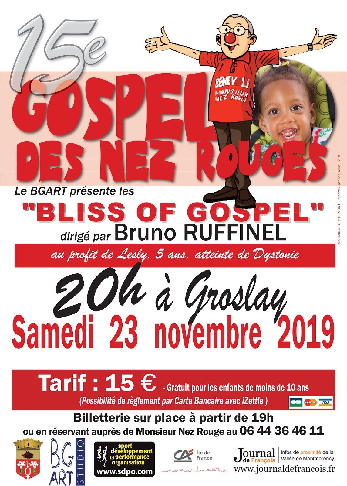 15e Gospel des Nez Rouges