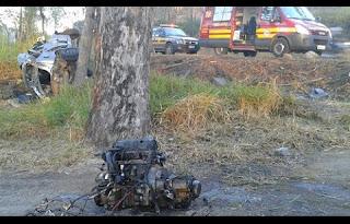 Acidente ocorrido no km 633 da BR-040, próximo ao parque de Exposições Tancredo Neves, tirou a vida de um jovem de 21 anos em Conselheiro Lafaiete na madrugada desta sexta-feira (10).