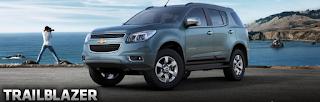 Harga dan Spesifikasi Chevrolet  Traiblazer 2012