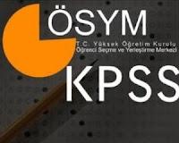 2012-KPSS Ortaöğretim/Önlisans Sınav Tarihinde Değişiklik