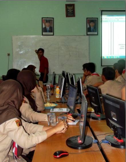 Pelatihan Arc View GIS SMAN 1 Muntilan