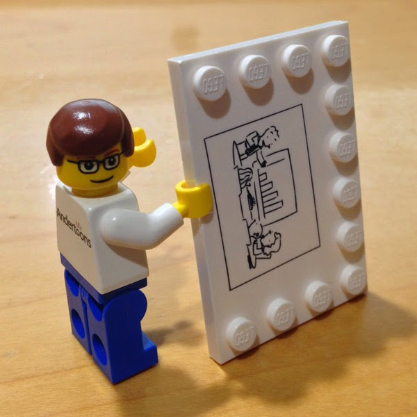 Mike Lynch Cartoons Mark Anderson How I Made My Own Lego Set With