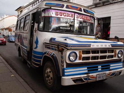 Autobús de Sucre