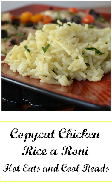 Skip the boxed stuff and make your own at home! Inexpensive, full of flavor and completely homemade! Copycat Chicken Rice a Roni from Hot Eats and Cool Reads
