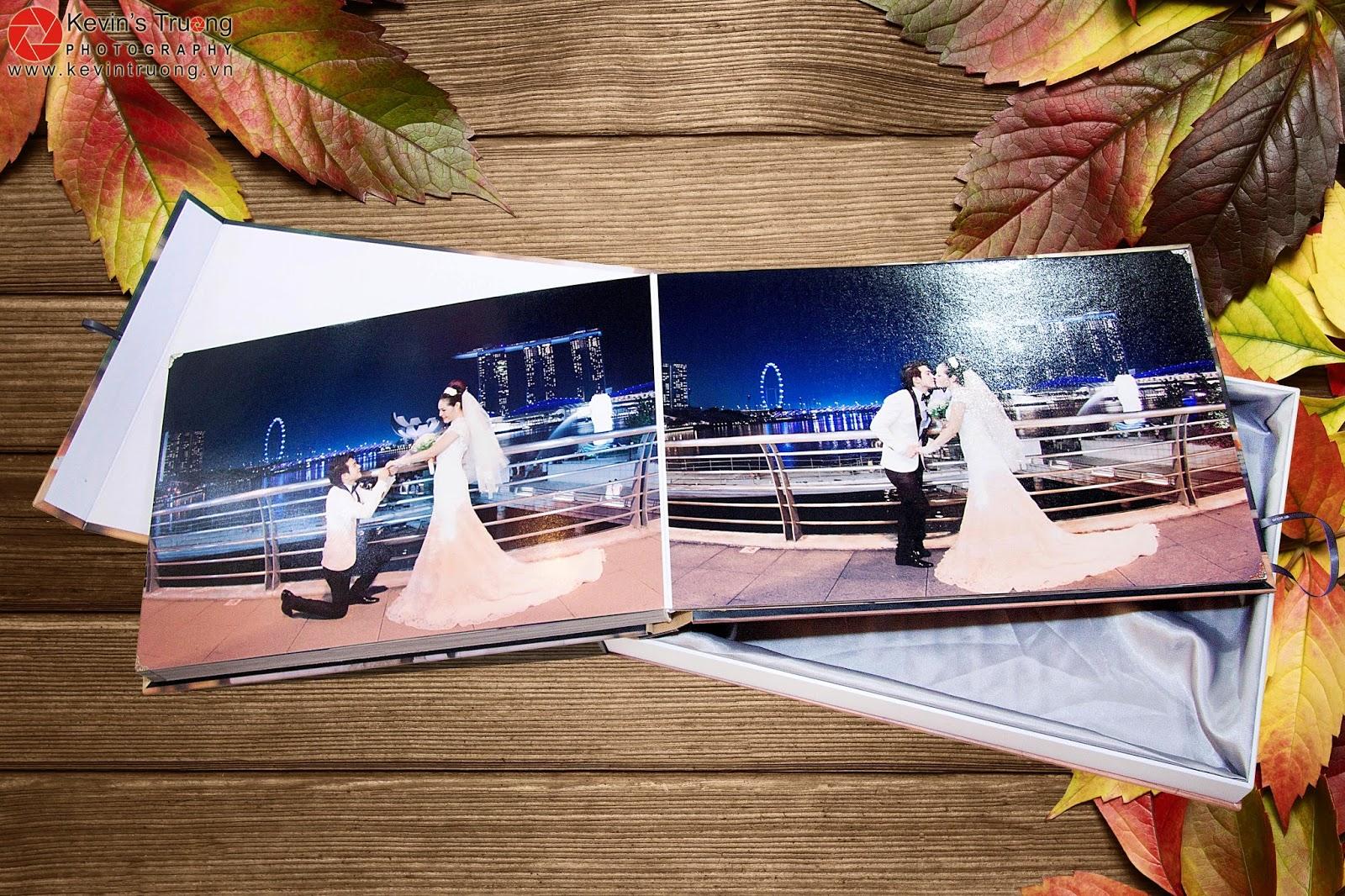 Gia Công-In Album Cát Kim Tuyến-Album 3D,Photobook,Ép gỗ các loại - 28