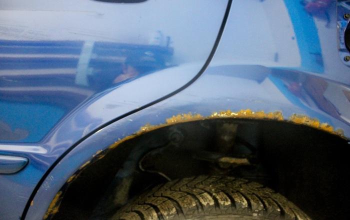 Чем убрать ржавчину с автомобиля своими руками