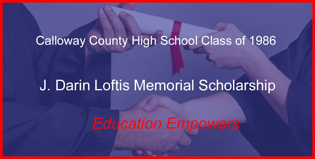 J. Darin Loftis Memorial Scholarship