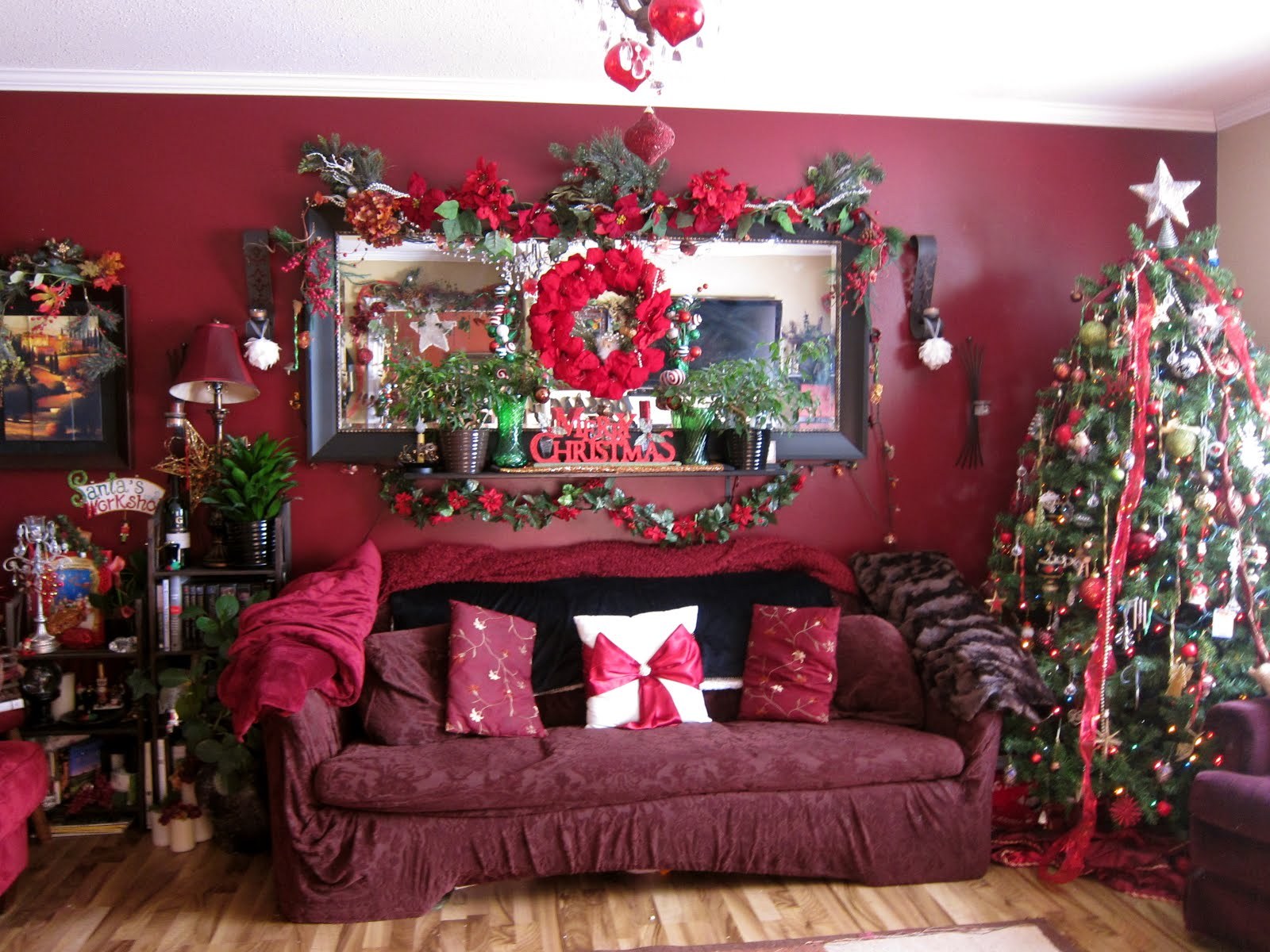 Our Christmas Living Room