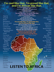 Listen to Africa; My poem is available as a poster which also features a beautiful map of Africa.