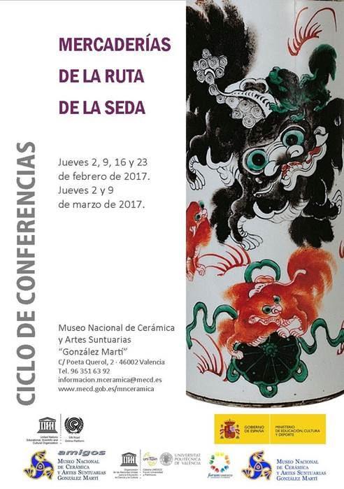 ACV 04 CONFERENCIAS EN EL MUSEO NACIONAL DE CERÁMICA