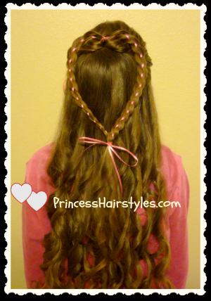 Valentine's Day Heart Hair