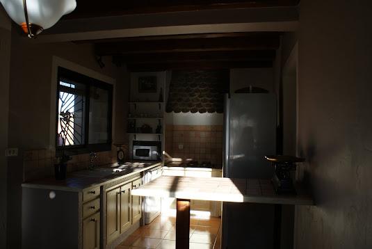 Villa olivier - Cuisine  (nouvelle peinture 11/2017)