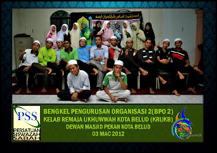Bengkel Pengurusan Organisasi(BPO) 2012