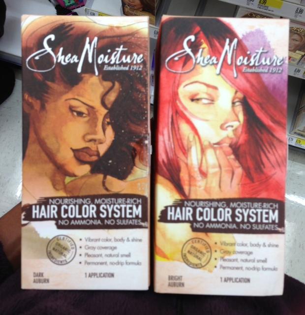 Shea moisture hair color system dark auburn