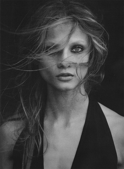 Anna Selezneva Fashion Portrait Peter Lindbergh