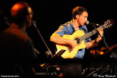Jordi Rubau de Cubacant a la cantada de Les Santes a Mataró