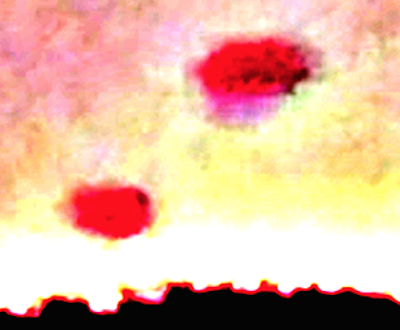 Huge Jellyfish UFO's Caught Over Kentucky 2015, UFO Sightings