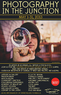 Scotiabank CONTACT Photography Festival: Public, May 1 - 31, 2013, The Junction, Toronto, poster credit: Junction BIA
