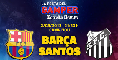 Barcelona vs Santos 2013 wallpaper Joan Gamper Trophy 2 Agustus 2013: Barcelona vs Santos Jadi Debut Neymar