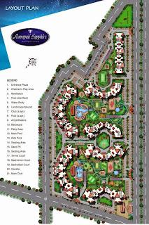 Amrapali Sapphire :: Site Plan