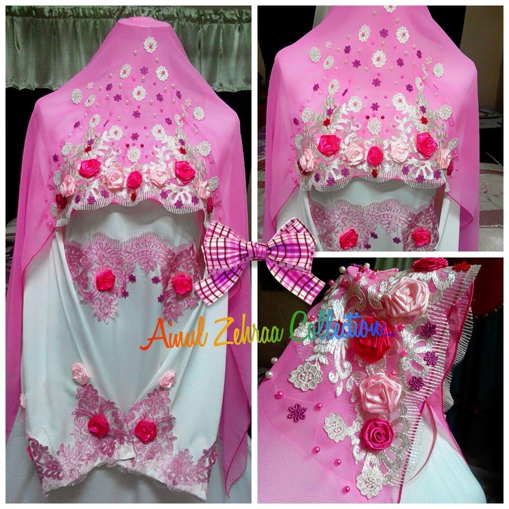 Veil Pink Putih
