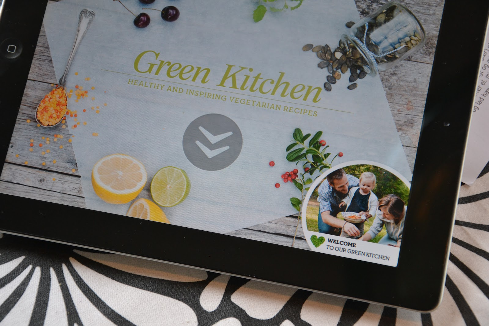 Brændstof: Green Kitchen App