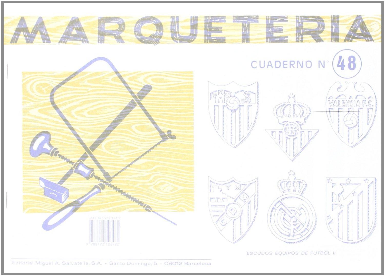 Taller tecnol gico escudo de futbol del real madrid - Cuadernos de marqueteria ...