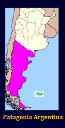 Región Patagonia Argentina.
