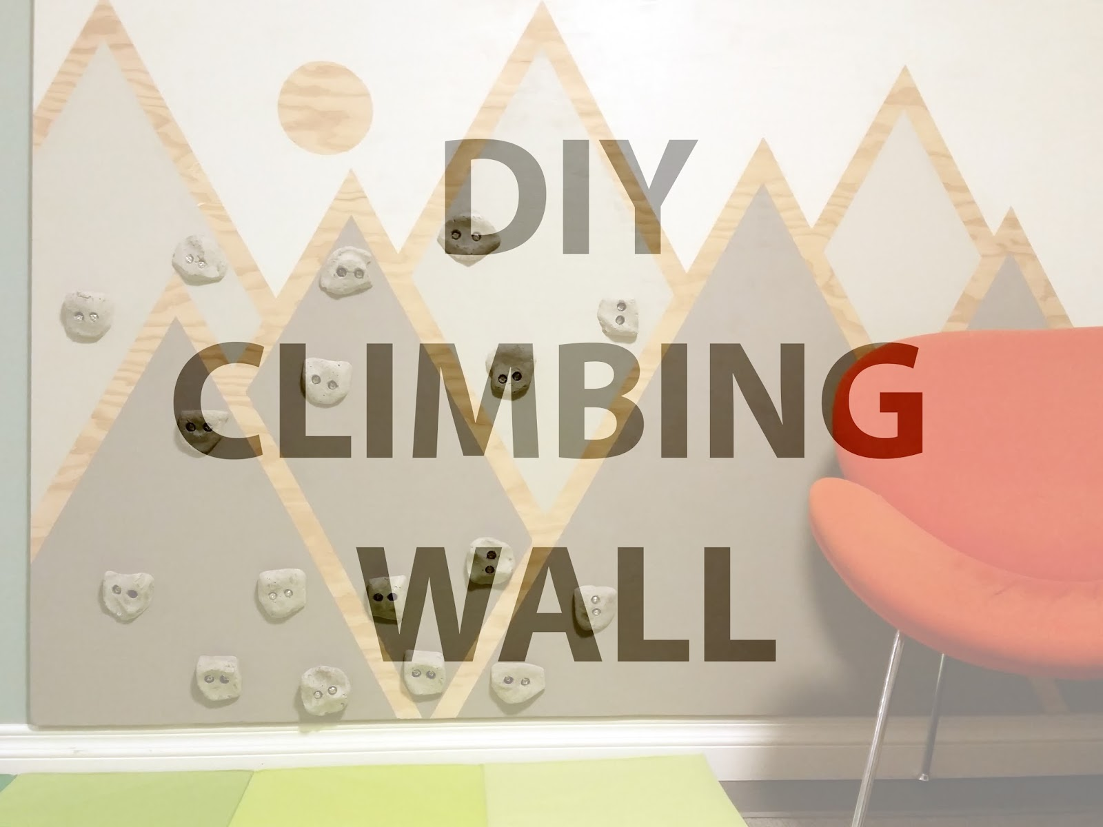Fresh Coat of Paint: A Climbing Wall For Our Mountain Goat