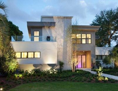 casa con amplio jardn