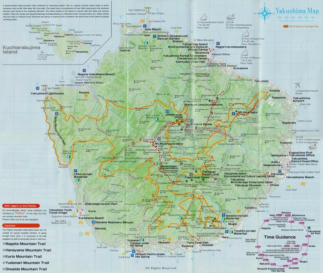 Japan Our Travel Blog Yakushima The Forest Of Wonders - Japan map yakushima