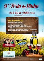 Catanduvas:Vem aí 9ª Festa do vinho, de 24 a 26 de julho