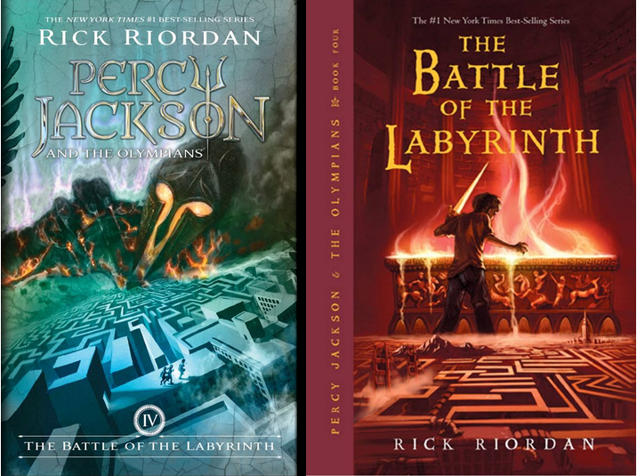 The Battle of the Labyrinth (Book 4)