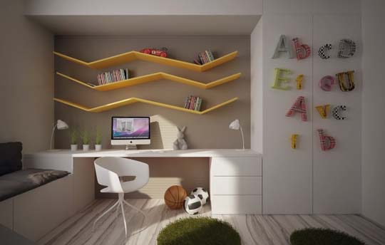 Cool Kids Room Design Ideas In 2013