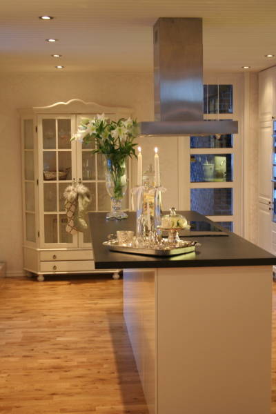 Landlig eleganse & rustikk romantikk: carma hildes kjøkken