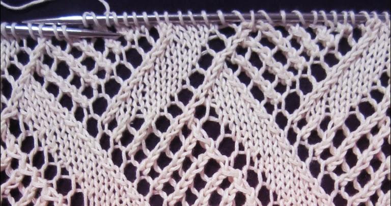 Knitting Gull Lace Pattern : Lace Knitting Pattern 6 - Knitting Unlimited