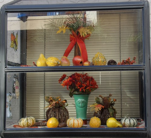 fall decoration, gourds