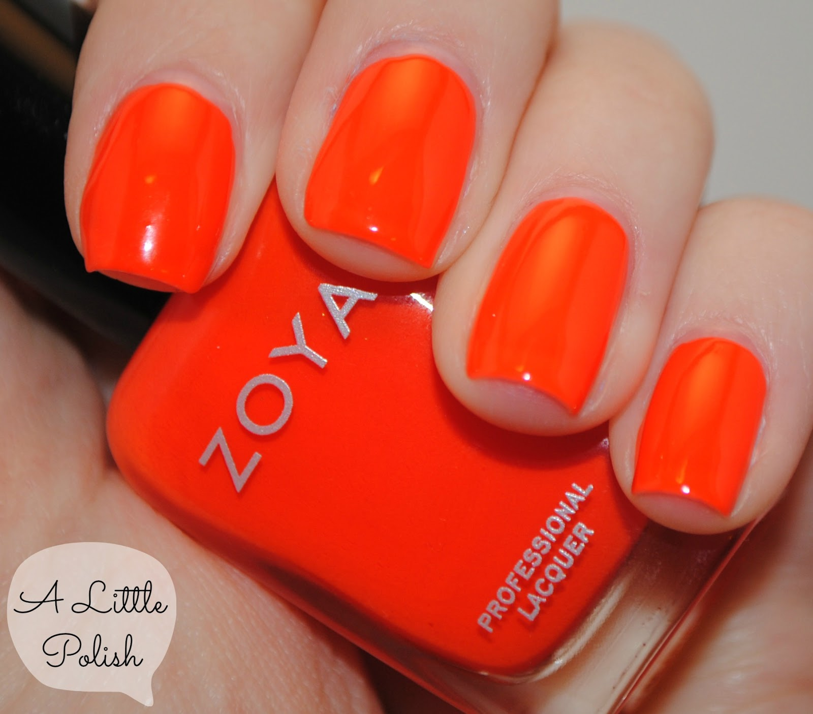 A Little Polish: Zoya - Paz