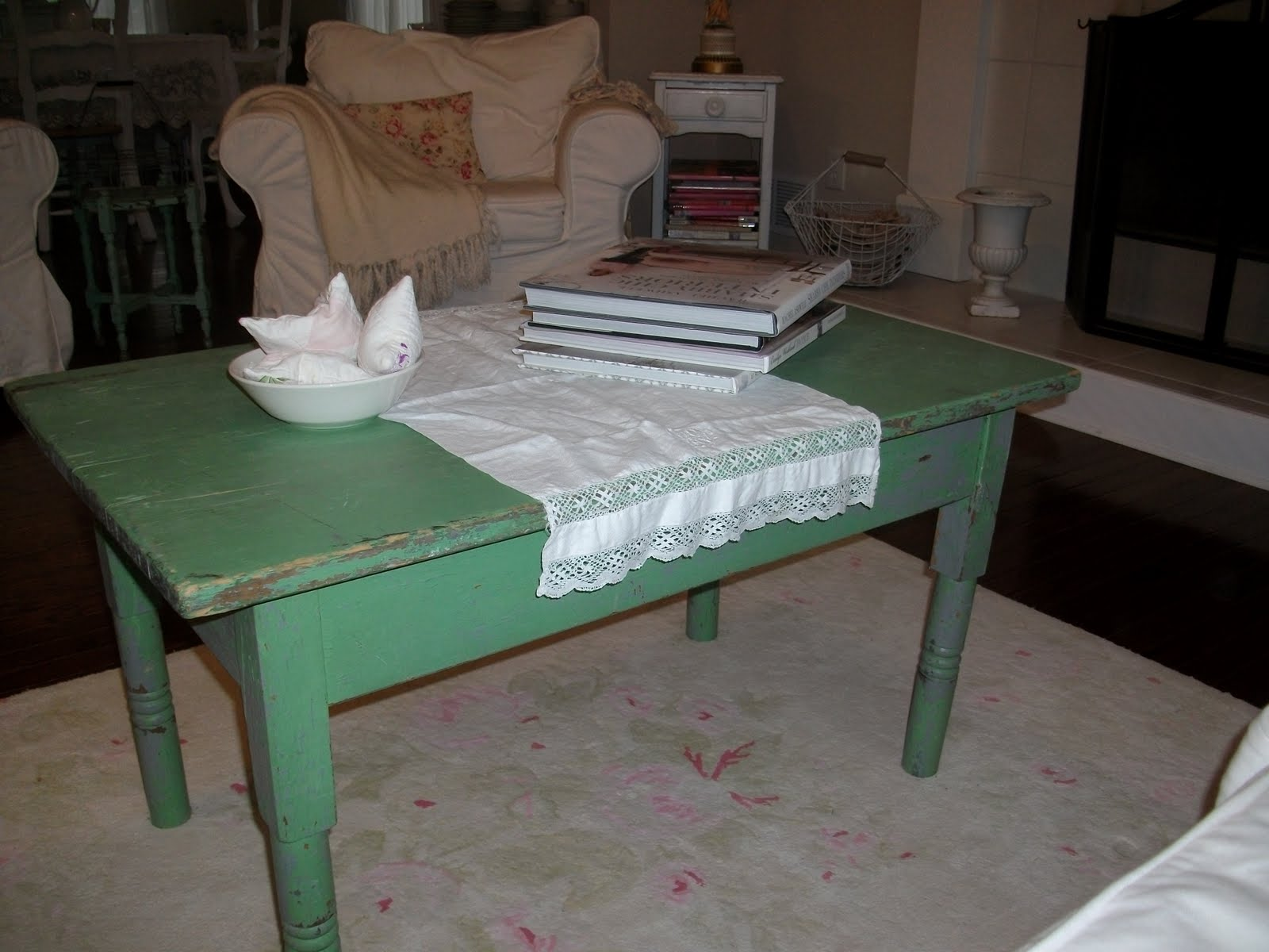 anything shabby chic new coffee table. Black Bedroom Furniture Sets. Home Design Ideas